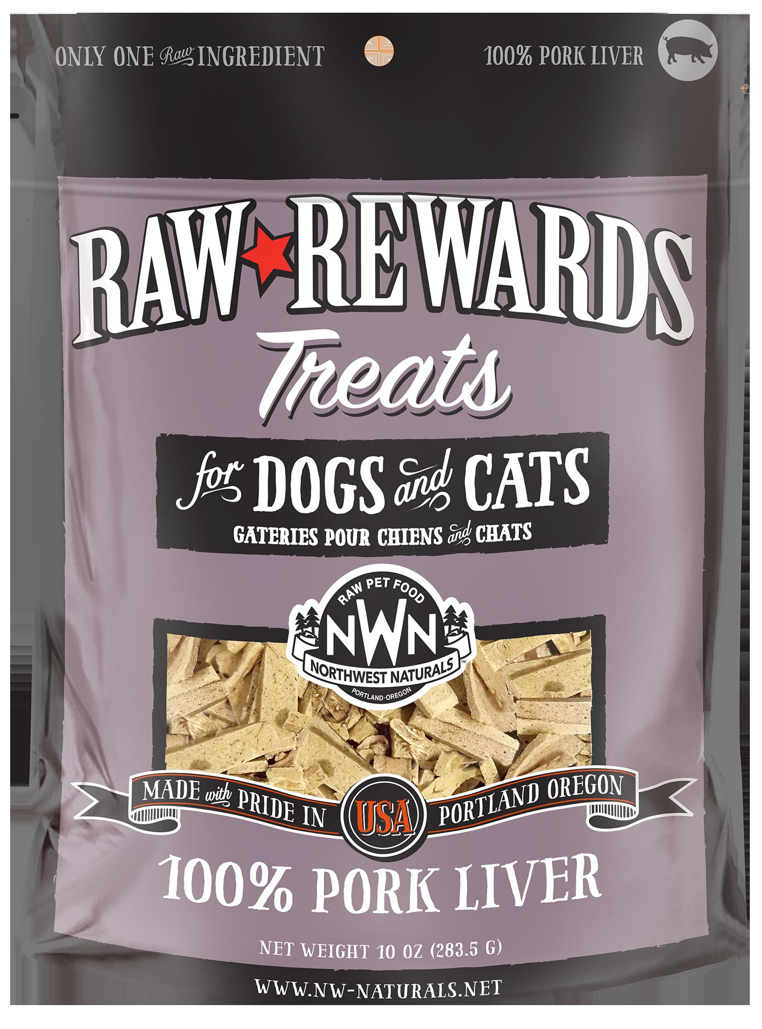 Northwest Naturals Northwest Naturals Raw Rewards Freeze Dried Pork Liver Cat & Dog Treats