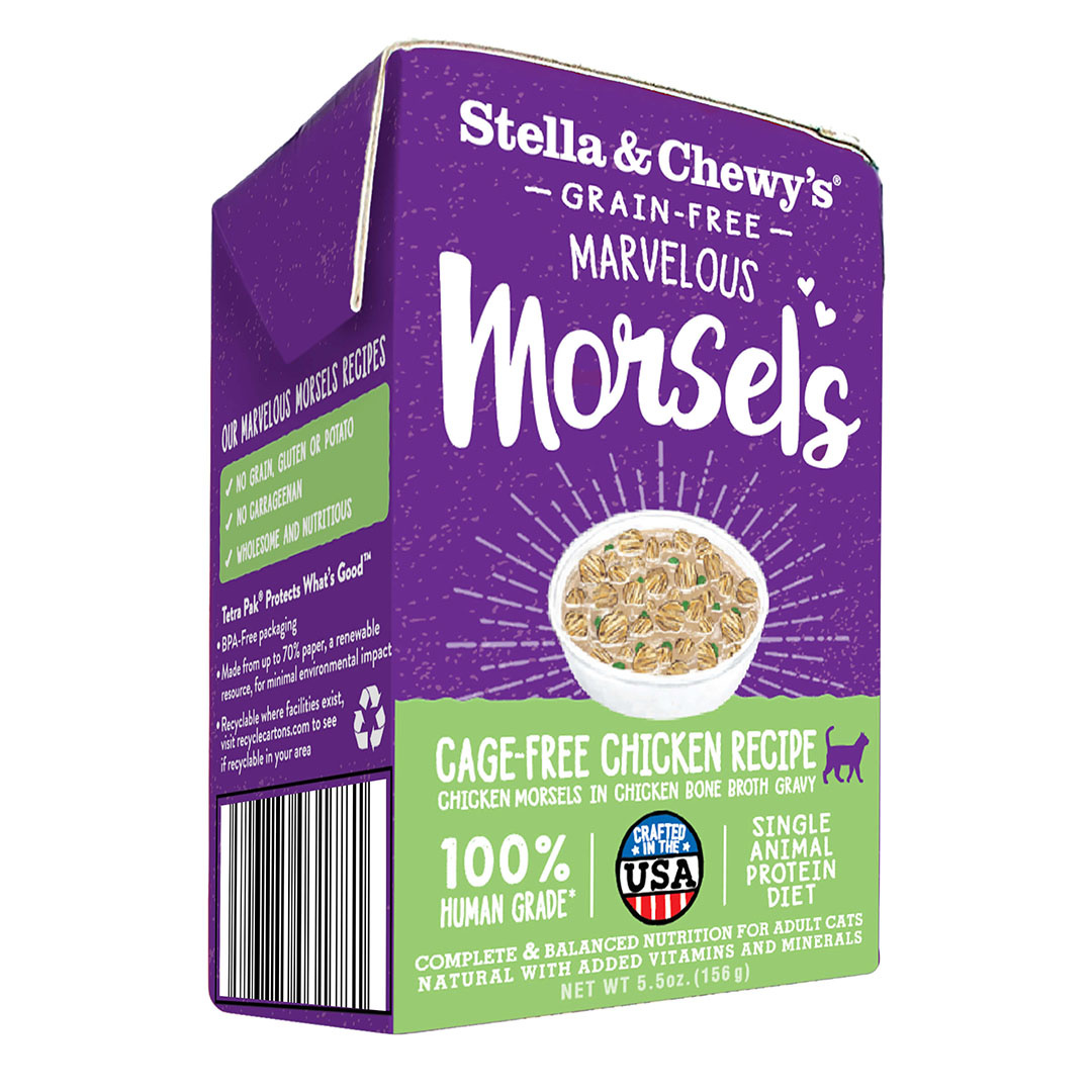 Stella & Chewy's Stella & Chewy's Marvelous Morsels Cage Free Chicken Wet Cat Food 5.5oz