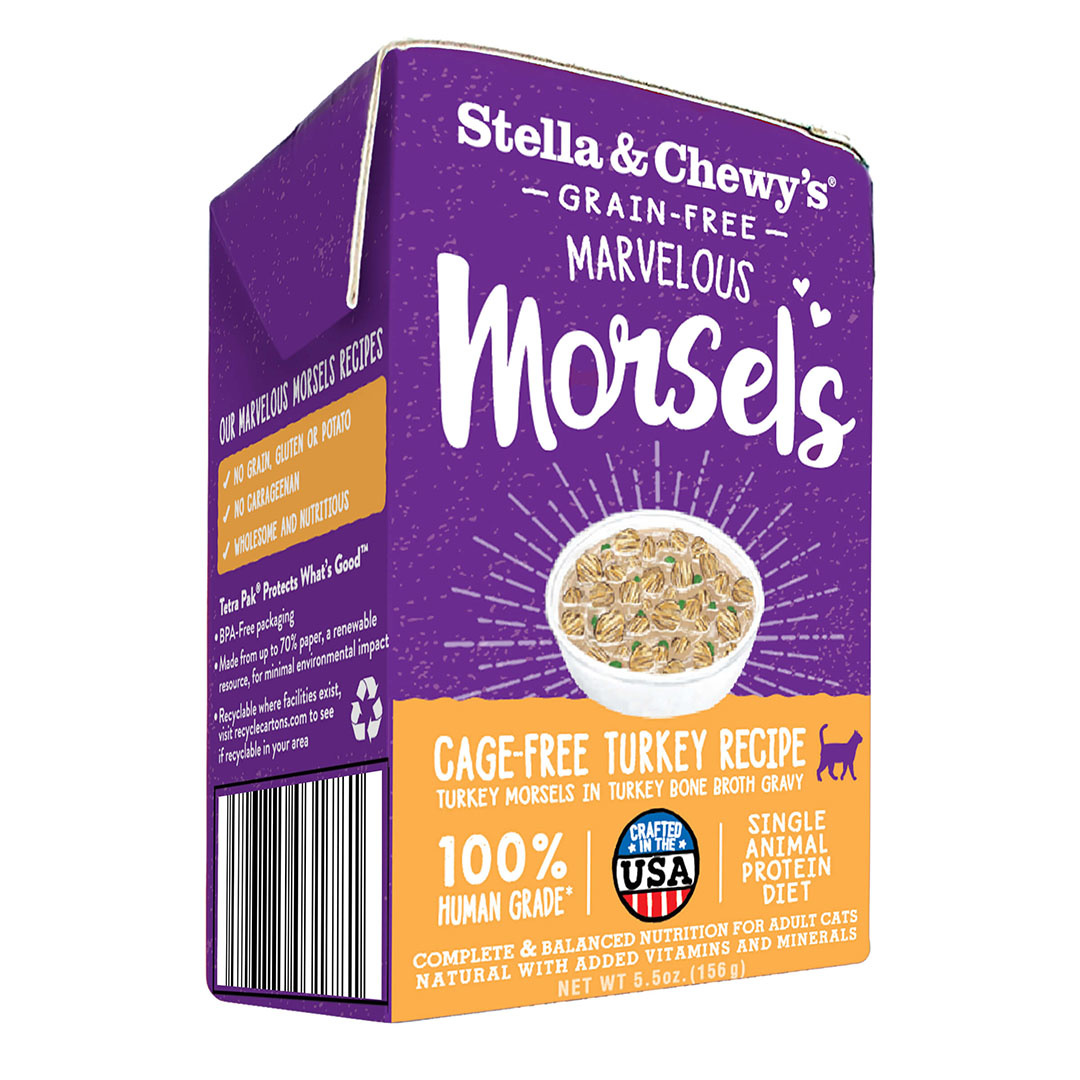 Stella & Chewy's Stella & Chewy's Marvelous Morsels Cage Free Turkey Wet Cat Food 5.5oz