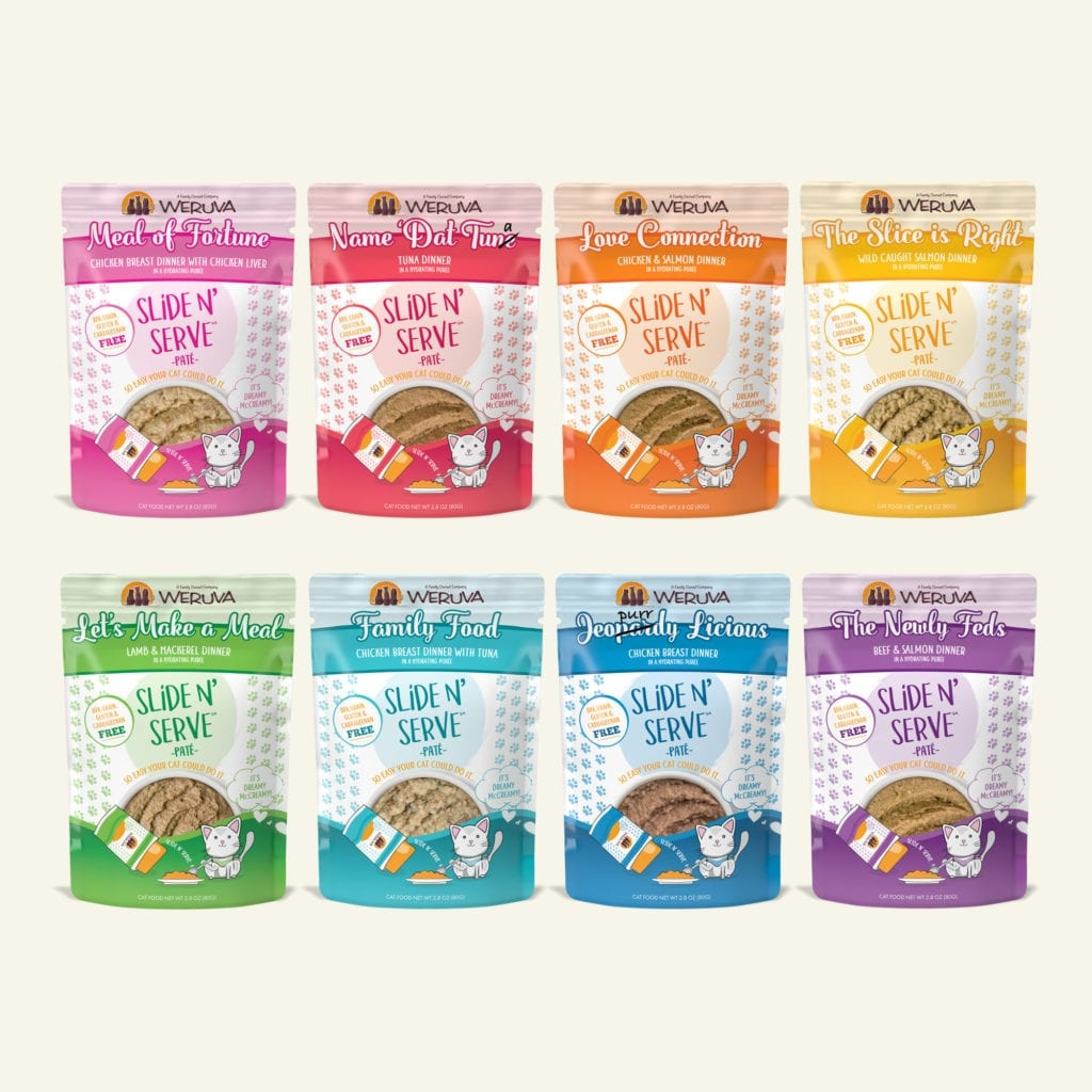 Weruva Weruva Slide n' Serve The Showcase Chowdown Variety Pack Wet Cat Food Pouches 2.8oz