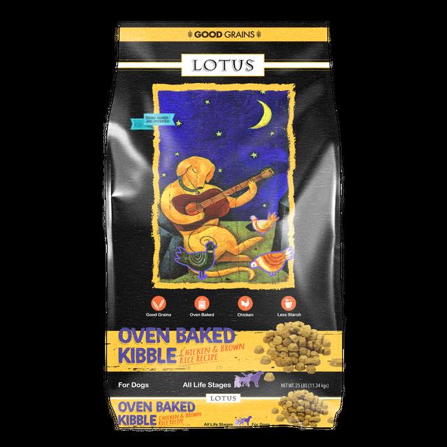 Lotus Lotus Oven Baked Chicken & Brown Rice Dry Dog Food