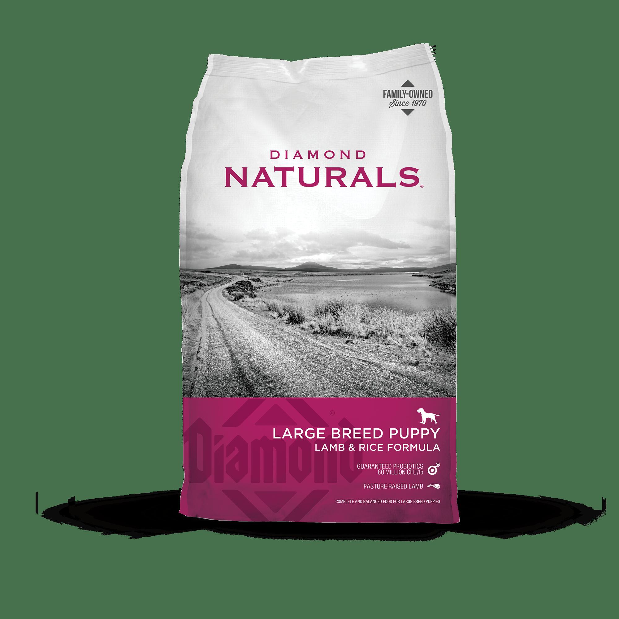 Diamond Diamond Naturals Large Breed Puppy Lamb & Rice Dry Dog Food