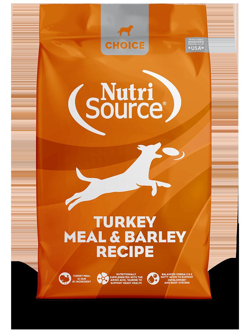NutriSource NutriSource Choice Turkey & Barley Dry Dog Food