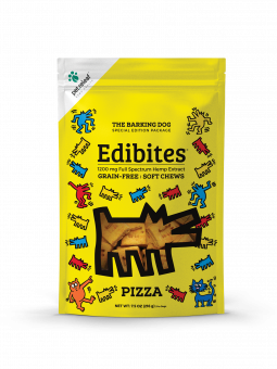 Pet Releaf Pet Releaf KH Edibites Pizza Soft Chews CBD Supplement 7.5oz