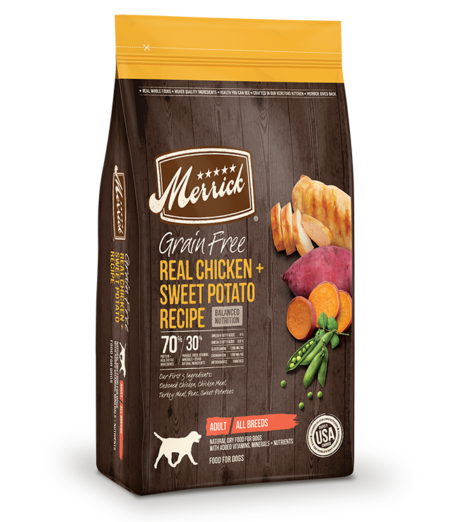Merrick Merrick Grain Free Chicken & Sweet Potato Dry Dog Food