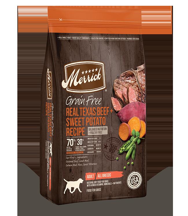 Merrick Merrick Grain Free Texas Beef & Sweet Potato Dry Dog Food