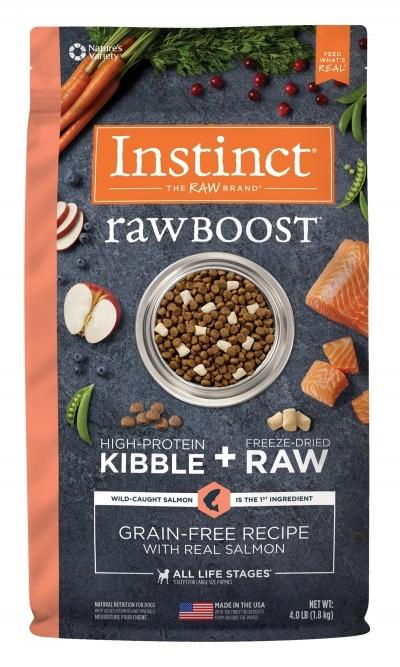 Instinct Nature's Variety Instinct Raw Boost Grain Free Salmon Dry Dog Food