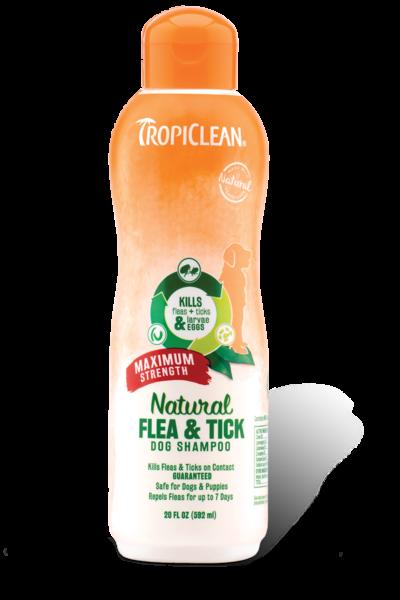 TropiClean Tropiclean Natural Flea & Tick Shampoo Maximum Strength