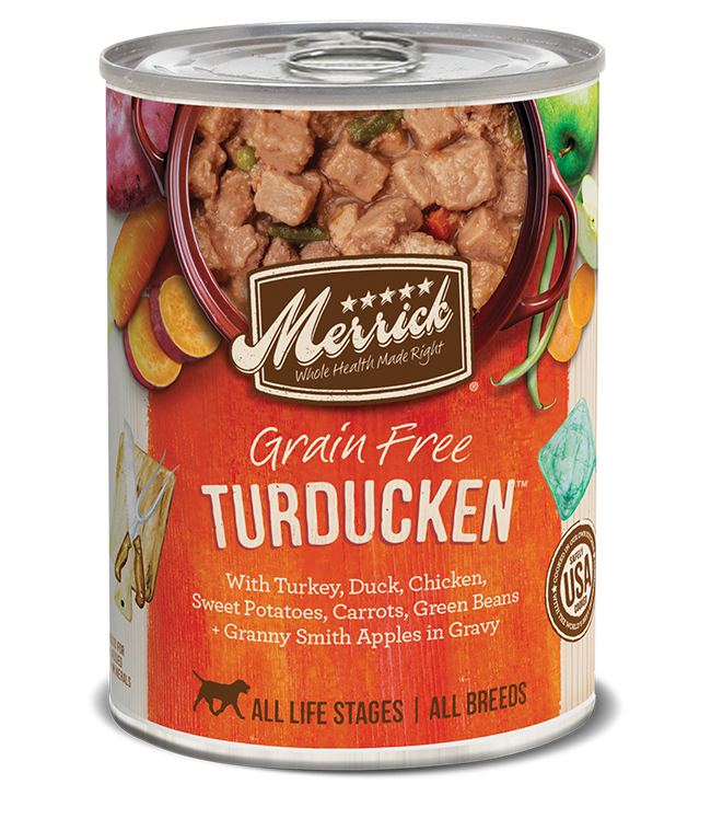 Merrick Merrick Turducken Dog Wet Dog Food 13.2oz