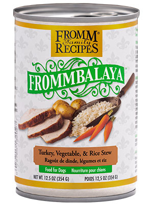 Fromm Fromm Frommbalaya Turkey, Vegetables and Rice Wet Dog Food 12.5oz