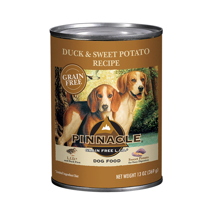 Pinnacle Pinnacle Grain Free Limited Ingredient Diet Duck & Sweet Potato Wet Dog Food 13oz