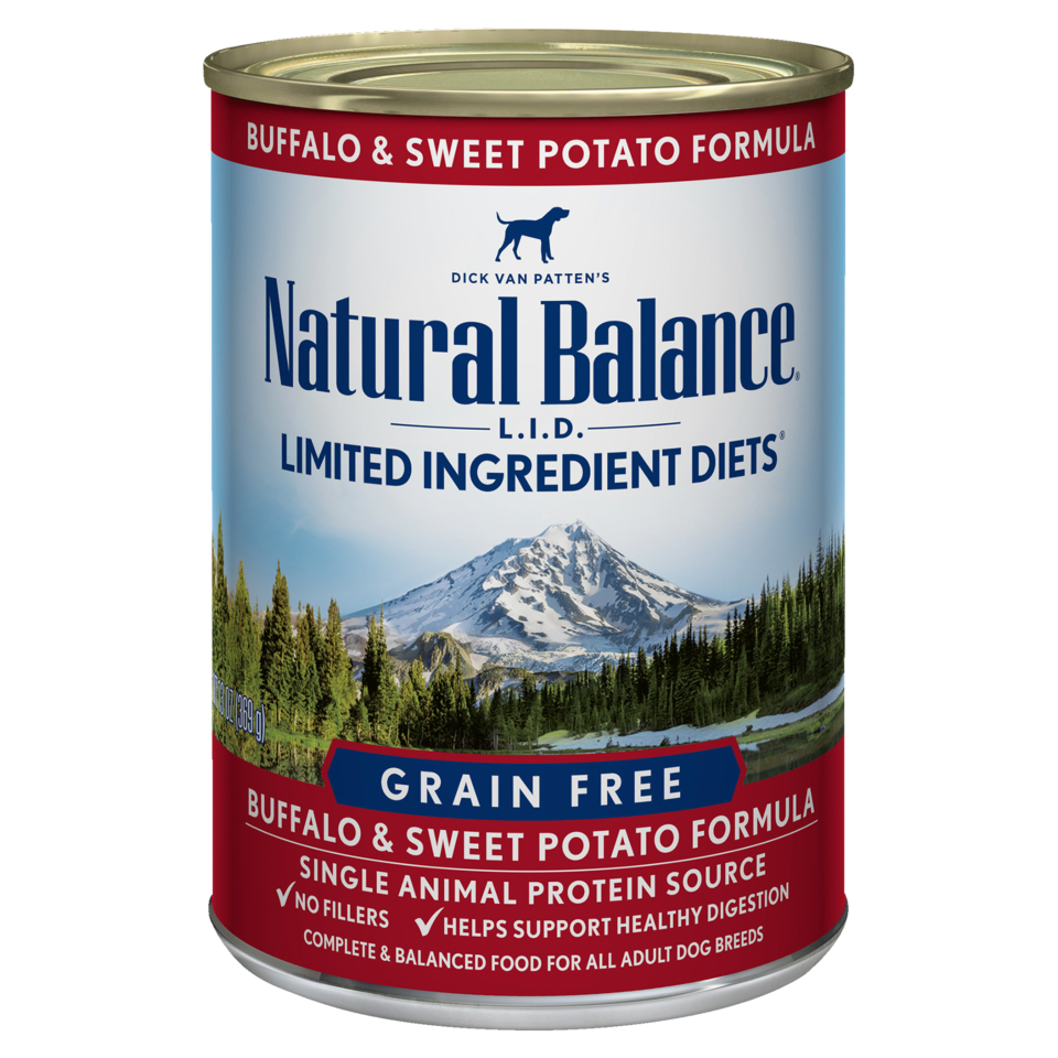 Natural Balance Natural Balance Limited Ingredient Diet Buffalo & Sweet Potato Wet Dog Food 13oz