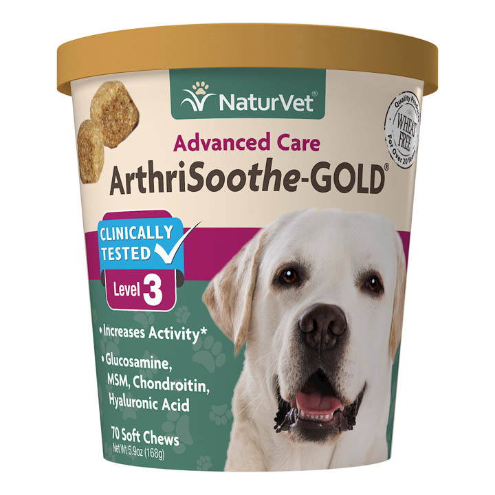 NaturVet NaturVet Arthrisoothe Gold Level 3 Soft Chew