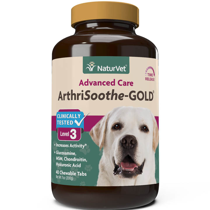 NaturVet NaturVet Arthrisoothe Gold Level 3 Chewable Tablet 90ct