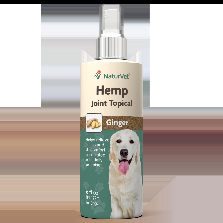 NaturVet NaturVet Hemp Joint With Ginger Topical Spray 6oz