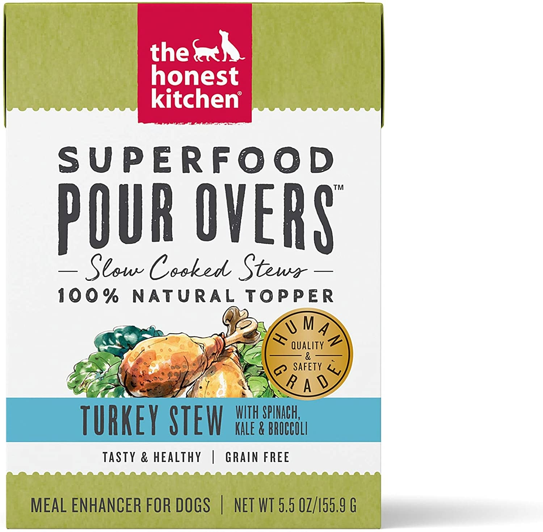 The Honest Kitchen The Honest Kitchen Pour Overs Superfood Turkey Stew Wet Dog Food 5.5oz