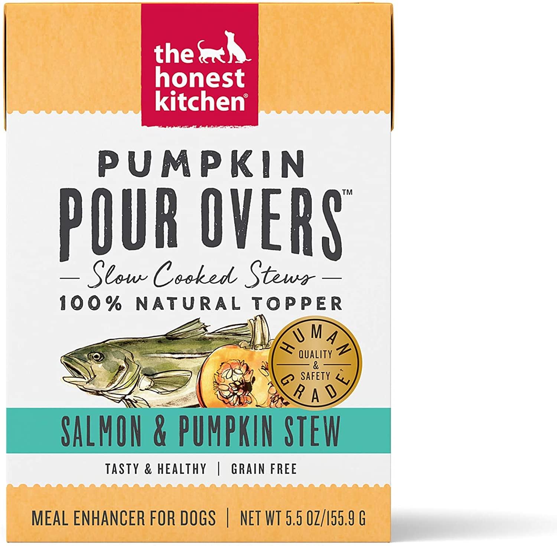 The Honest Kitchen The Honest Kitchen Pour Overs Pumpkin & Salmon Stew Wet Dog Food 5.5oz