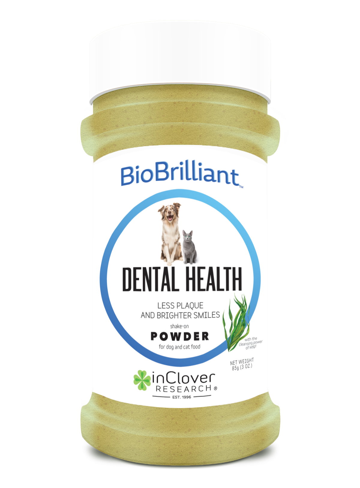 In Clover In Clover BioBrilliant Dental Health Powder Supplement 2.8oz