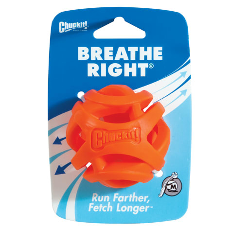 Chuck-It! Breathe Right Fetch Ball Dog Toy