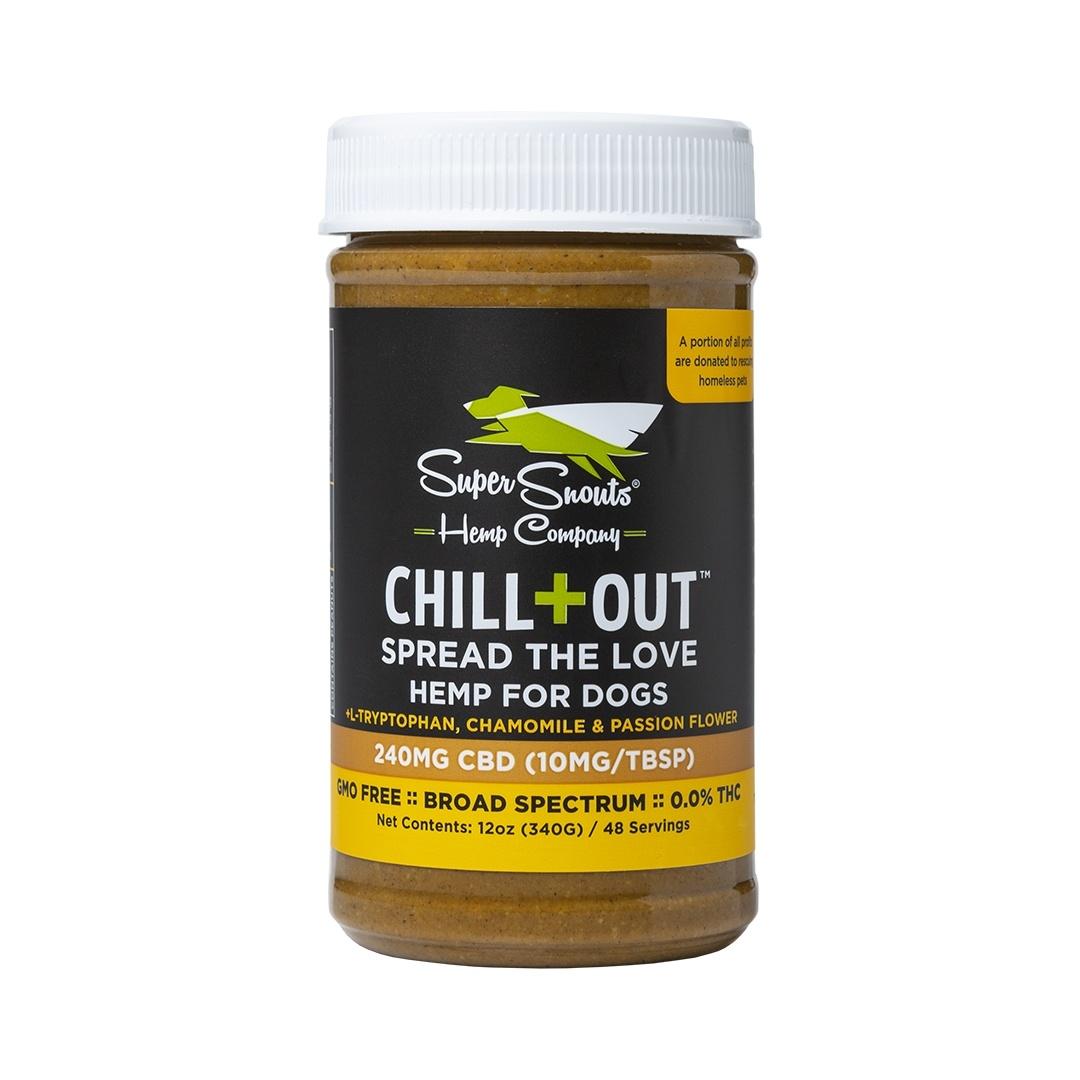 Super Snouts Super Snouts Chill Out Peanut Butter CBD Supplement 240mg 12oz