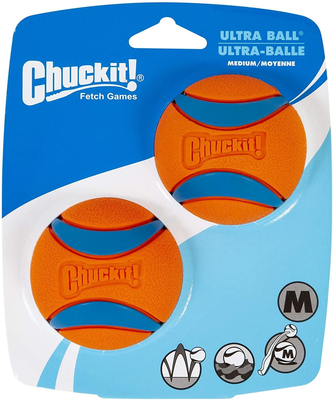 Chuckit! Chuckit! Ultra Ball Dog Toy 2pk