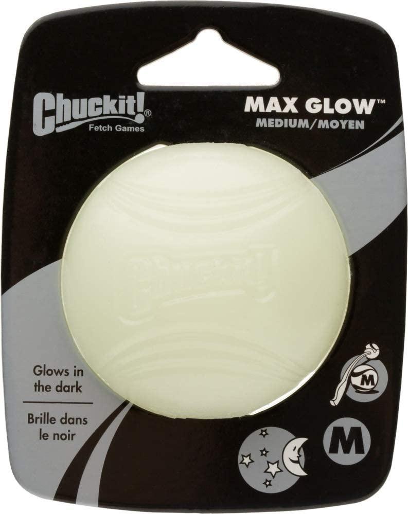 Chuckit! Chuckit! Max Glow Ball Dog Toy