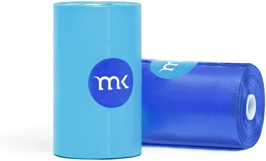 Modern Kanine Waste Bags Blue & Light Blue