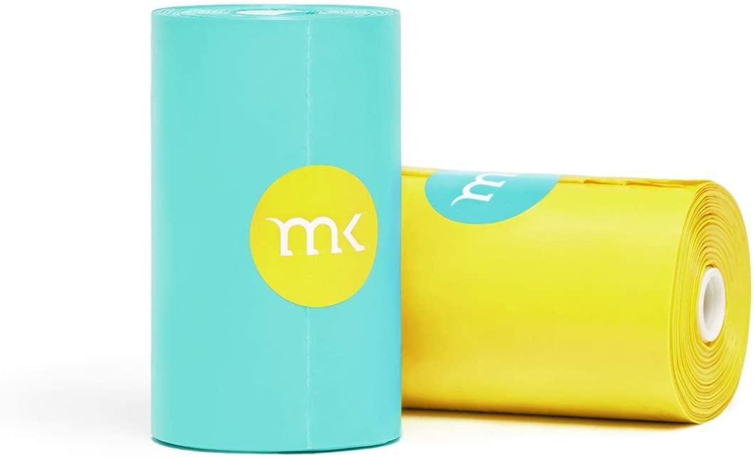 Modern Kanine Modern Kanine Waste Bags Turquoise & Yellow