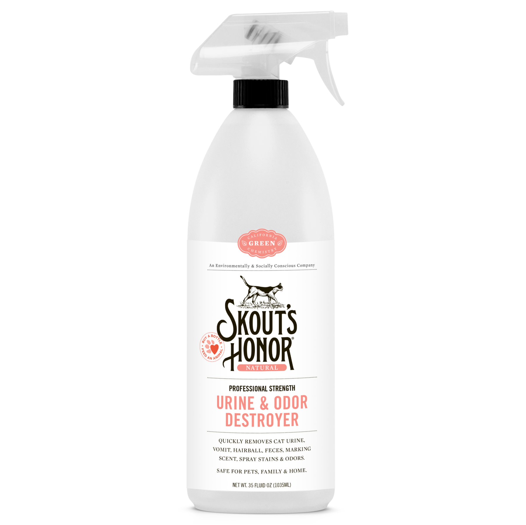 Skout's Honor Feline Urine & Odor Destroyer Cleaning Spray