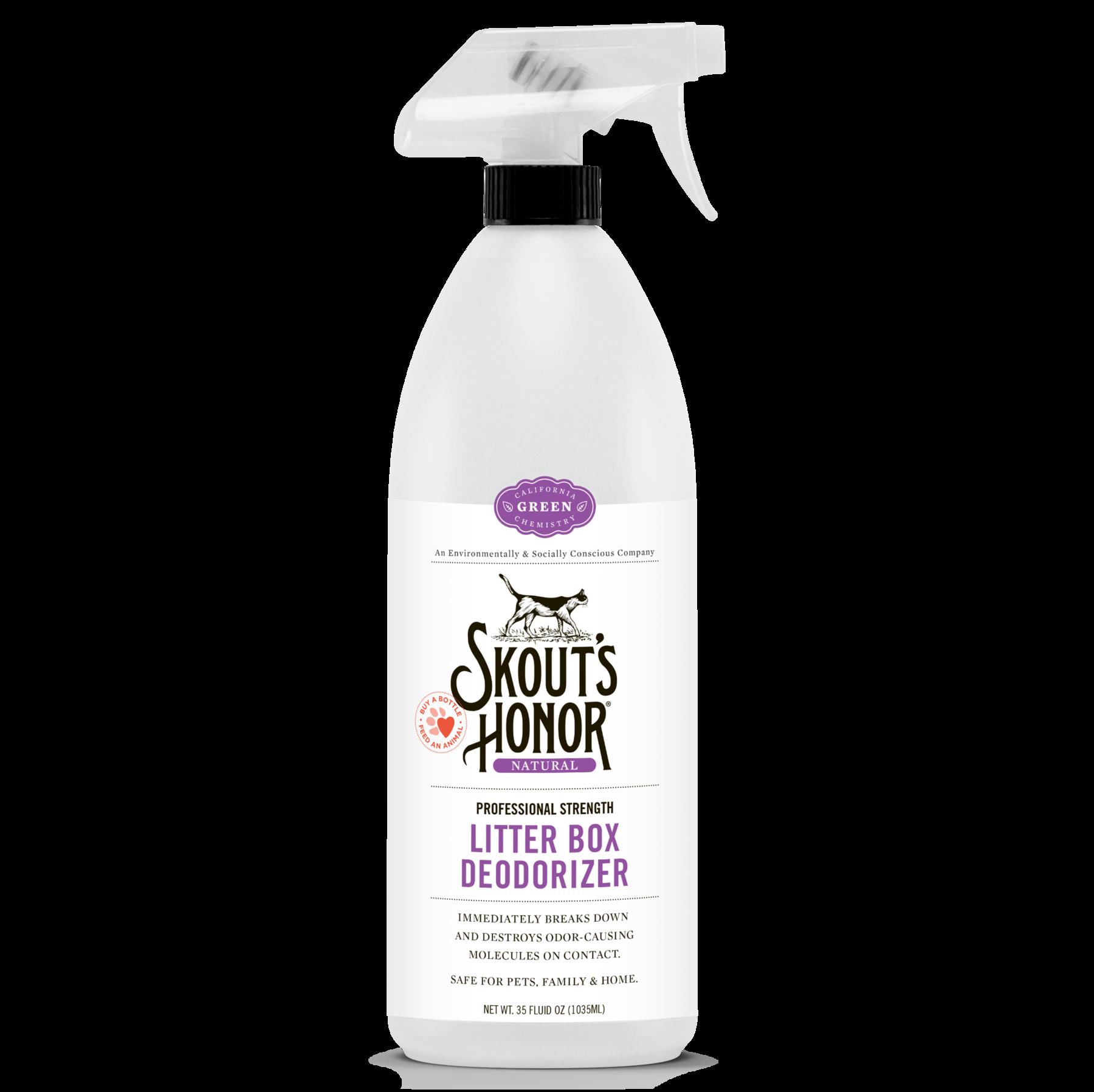 Skout's Honor Skout's Honor Litter Box Deodorizing Spray 32oz