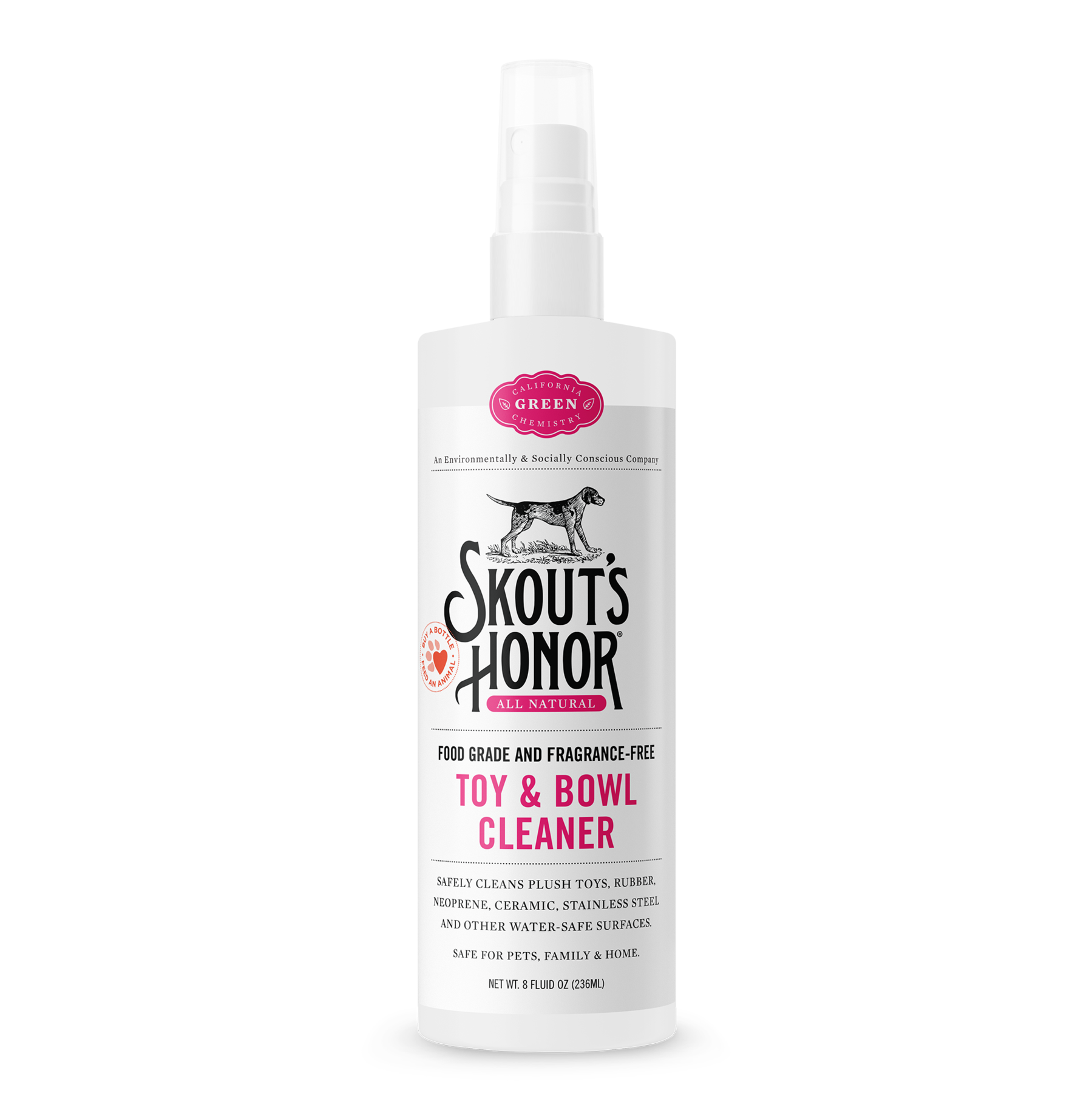 Skout's Honor Toy & Bowl Cleaning Spray 8oz