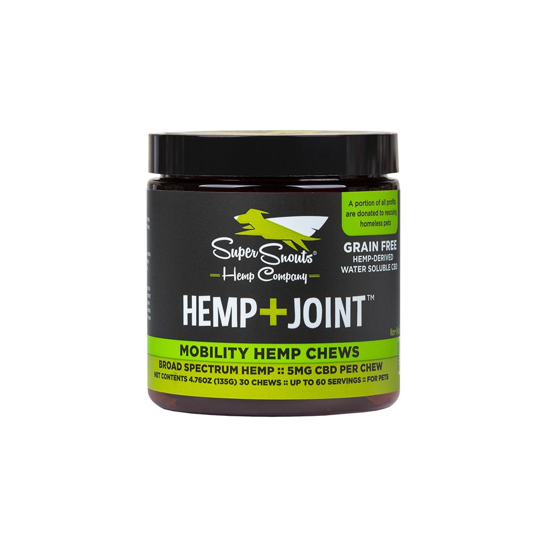 Super Snouts Super Snouts Hemp + Joint Chews CBD Supplement 5mg