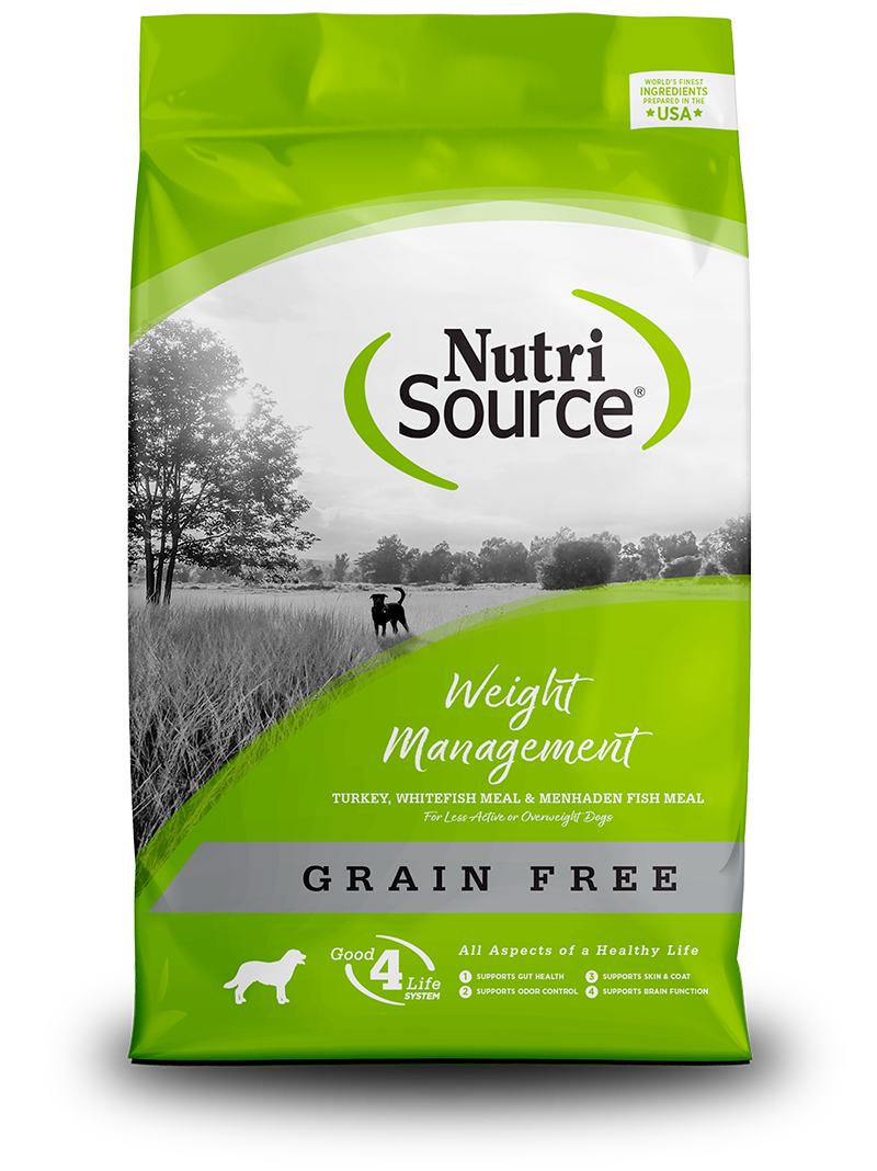 NutriSource NutriSource Grain Free Weight Management Turkey & Whitefish Dry Dog Food
