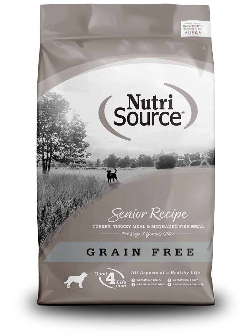 NutriSource NutriSource Grain Free Senior Turkey Dry Dog Food