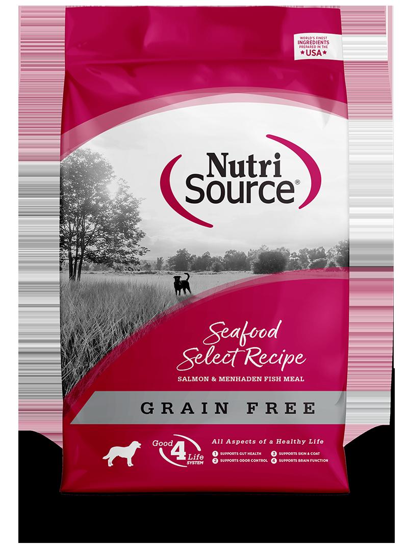 NutriSource NutriSource Grain Free Seafood Select Salmon Dry Dog Food