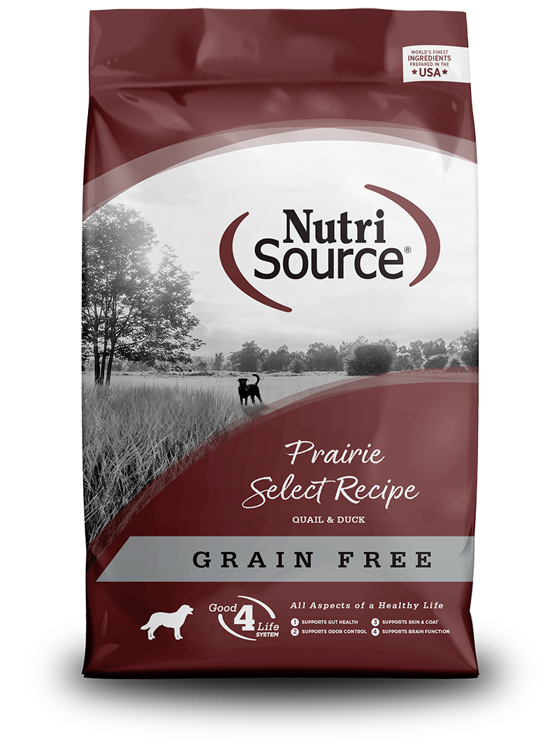 NutriSource NutriSource Grain Free Prairie Select Quail & Duck Dry Dog Food