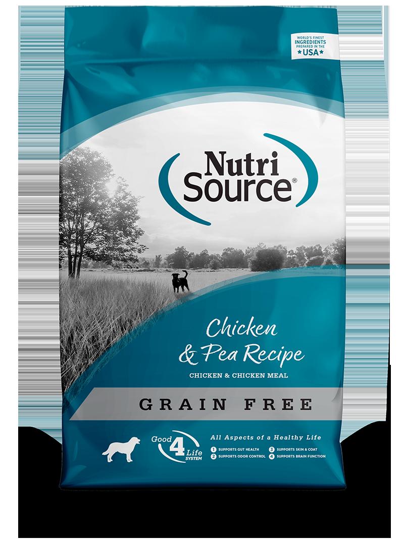 NutriSource NutriSource Grain Free Chicken & Pea Dry Dog Food
