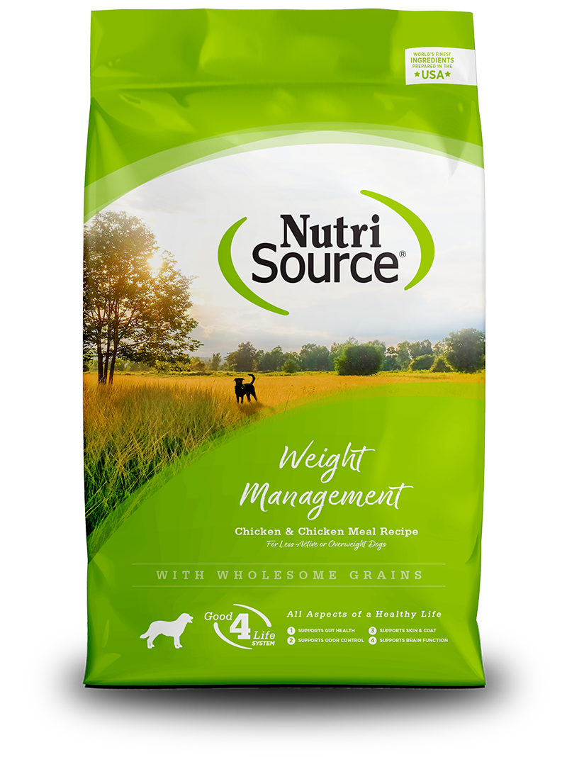 NutriSource NutriSource Weight Management Chicken & Rice Dry Dog Food