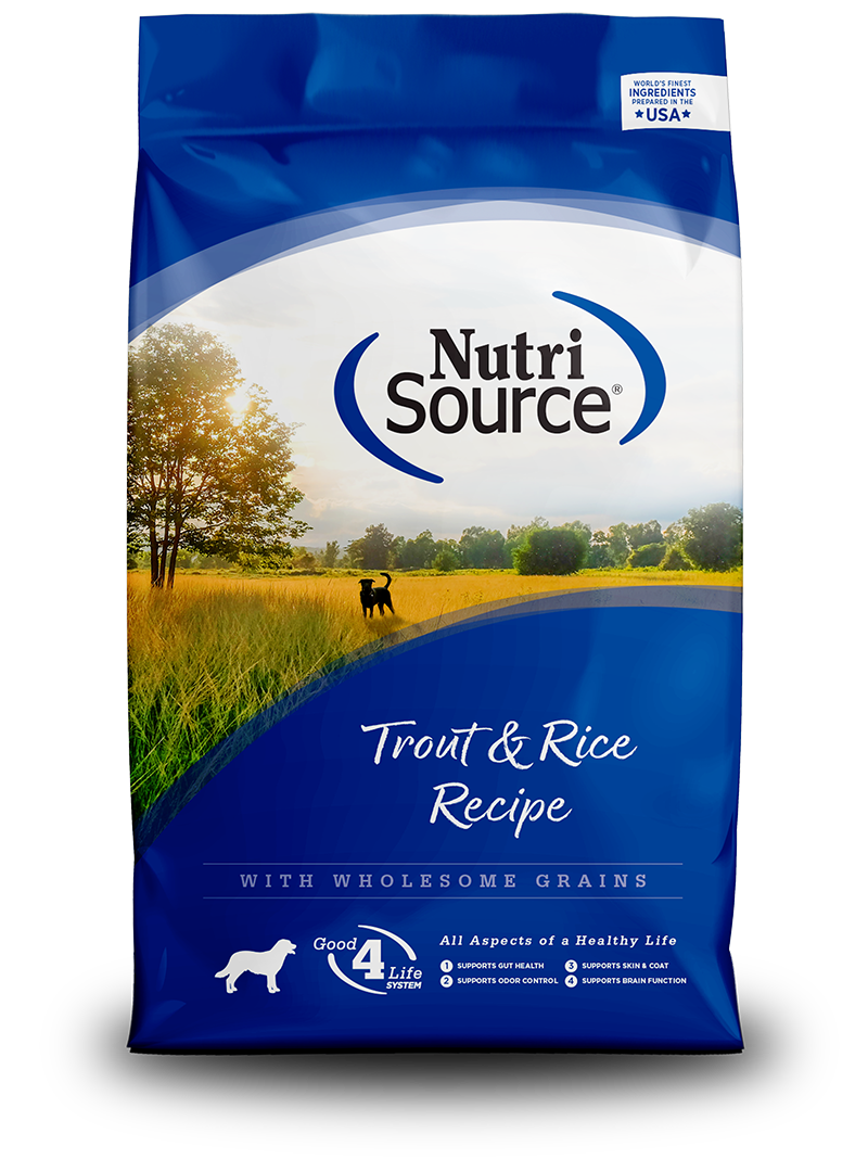 NutriSource NutriSource Trout & Rice Dry Dog Food
