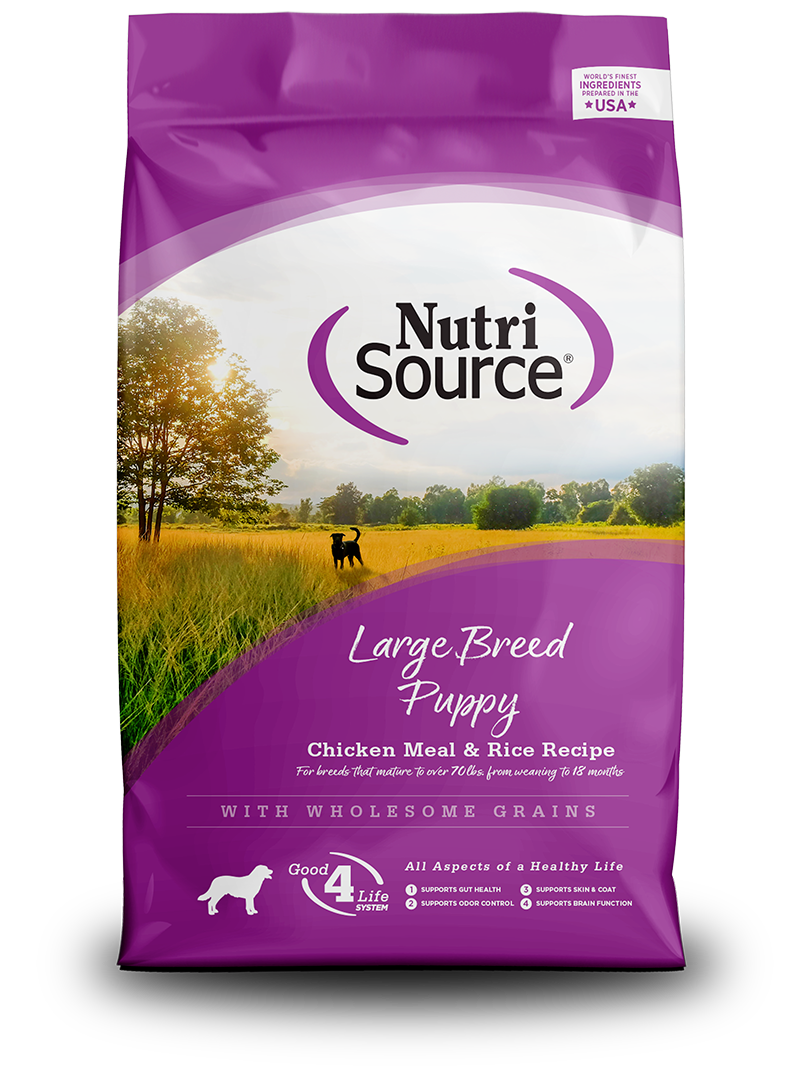 NutriSource NutriSource Large Breed Puppy Chicken & Rice Dry Dog Food