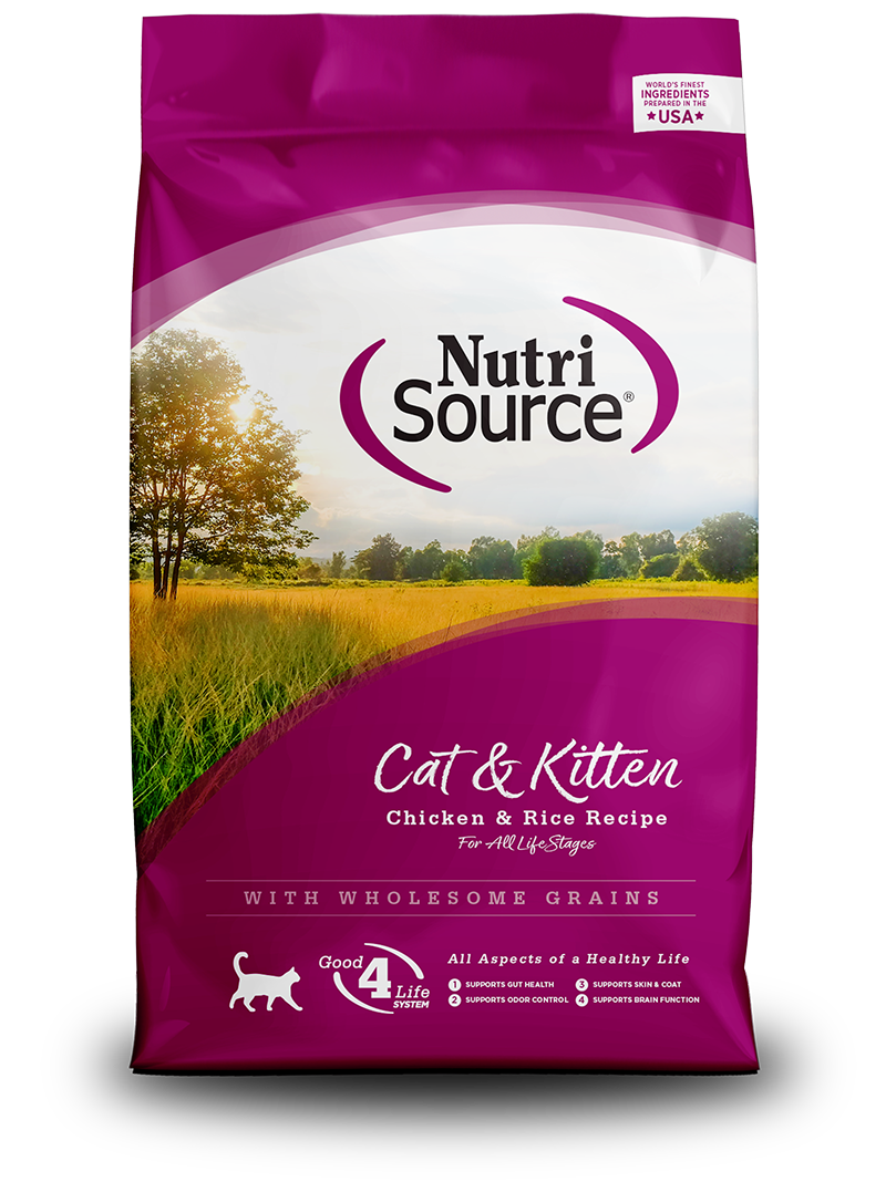 NutriSource NutriSource Chicken & Rice Dry Cat Food