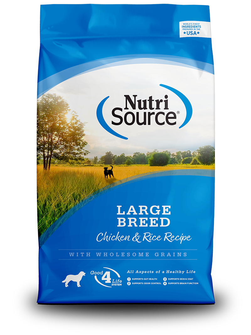 NutriSource NutriSource Large Breed Chicken & Rice Dry Dog Food 30#