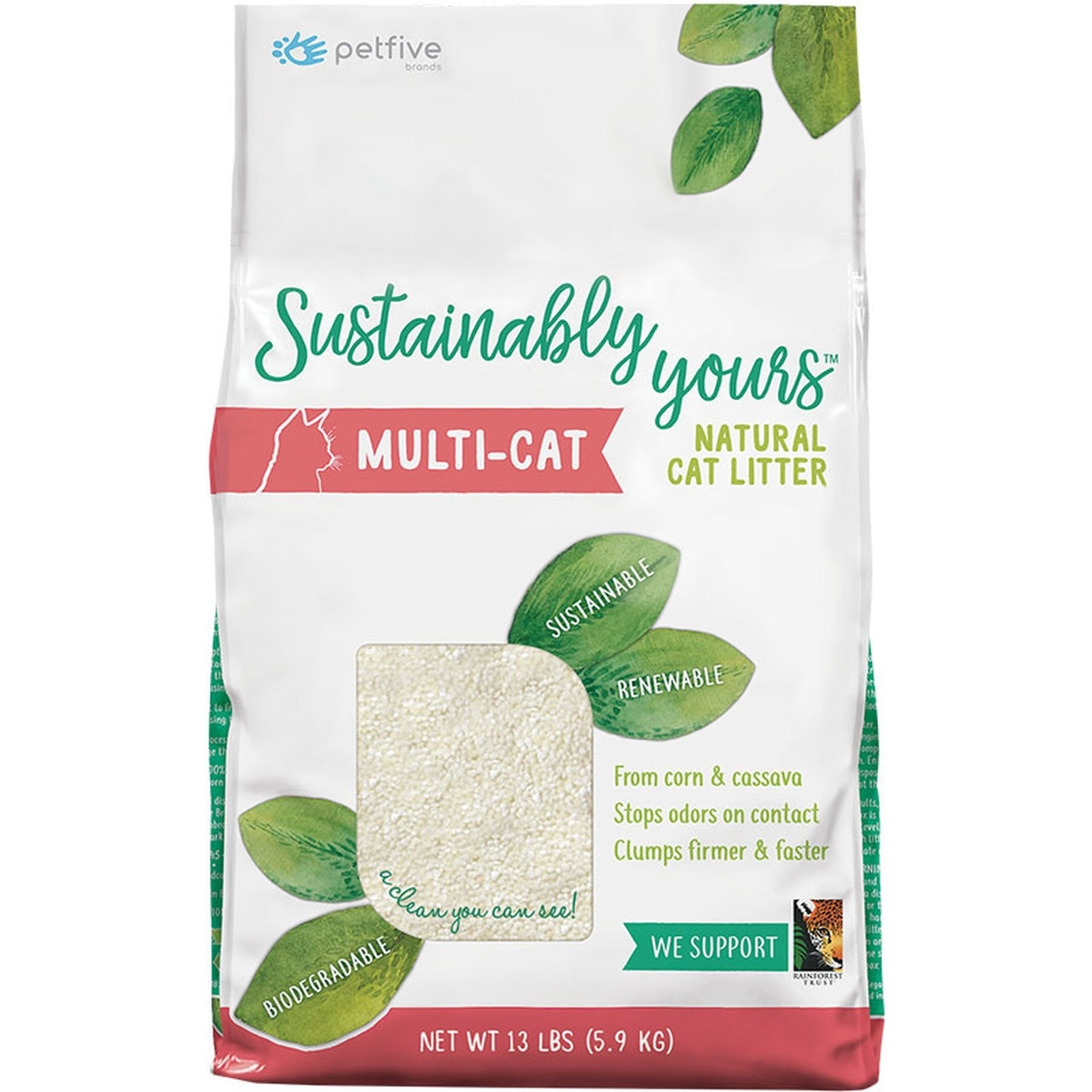 Sustainably Yours Sustainably Yours Natural Mulit-Cat Litter