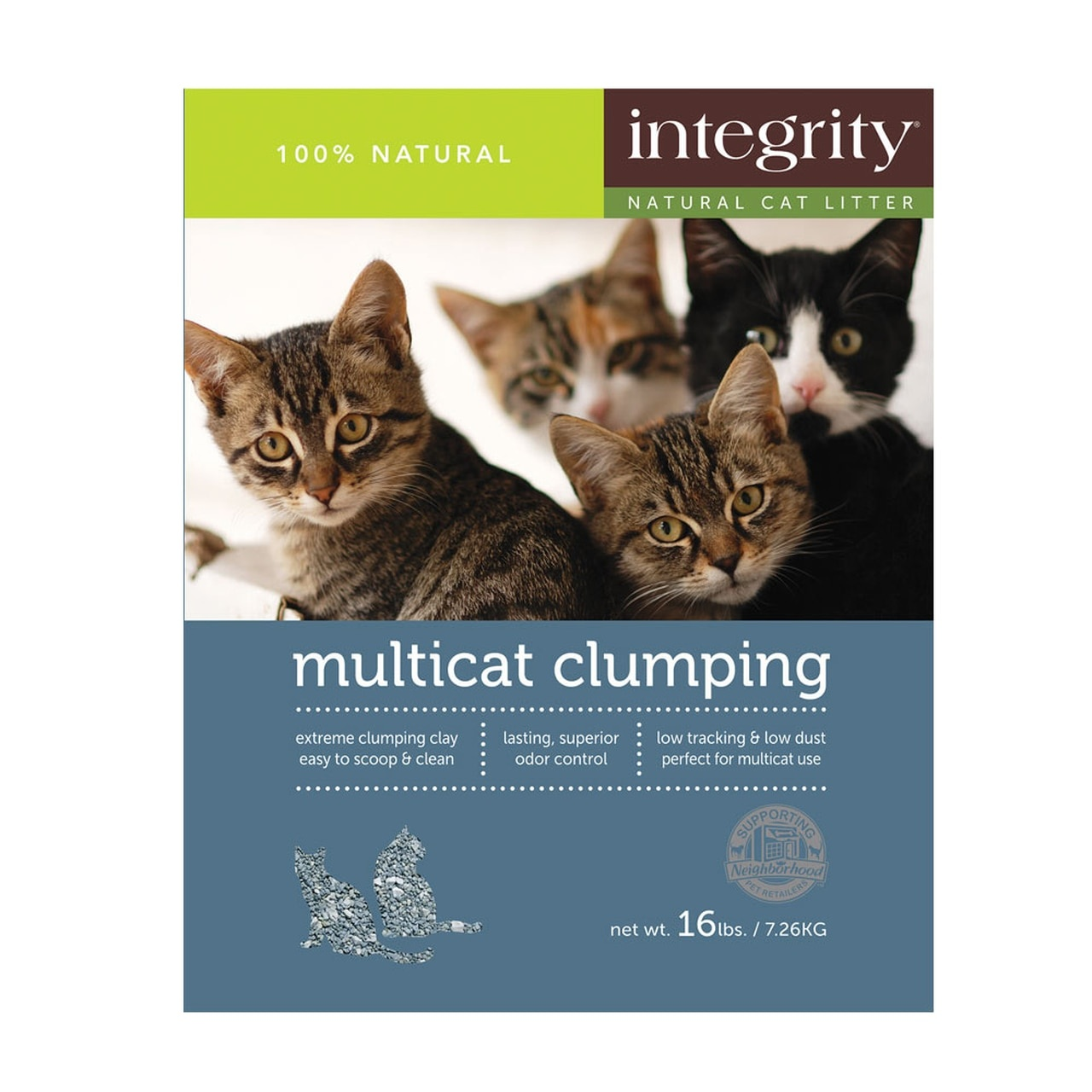 Integrity Integrity Multi-Cat Clumping Clay Cat Litter