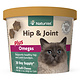 NaturVet NaturVet Cat Hip & Joint Plus Omegas Supplement Soft Chew 60ct