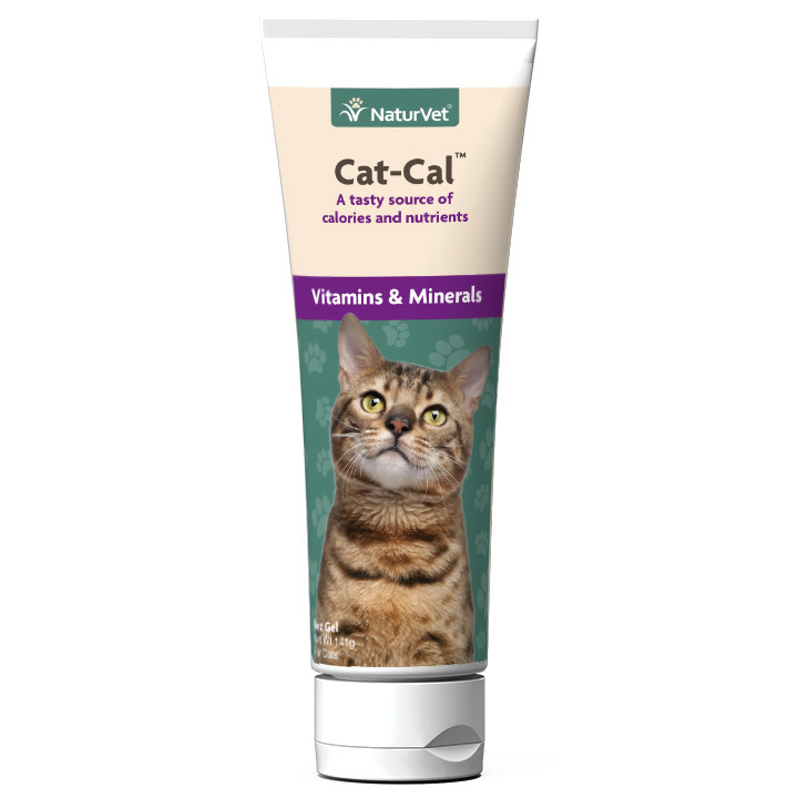 NaturVet NaturVet Cat-Cal Nutritional Gel 5oz