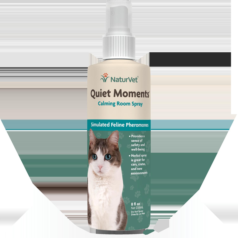 NaturVet NaturVet Quiet Moments Calming Spray For Cats 8oz