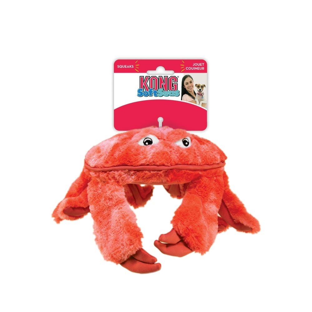 Kong Kong Softseas Crab Dog Toy