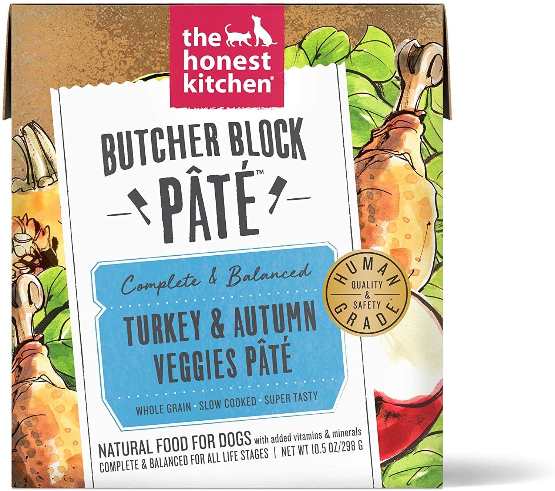 The Honest Kitchen The Honest Kitchen Butcher Block Turkey & Autumn Veggies Pate Wet Dog Food 10.5oz