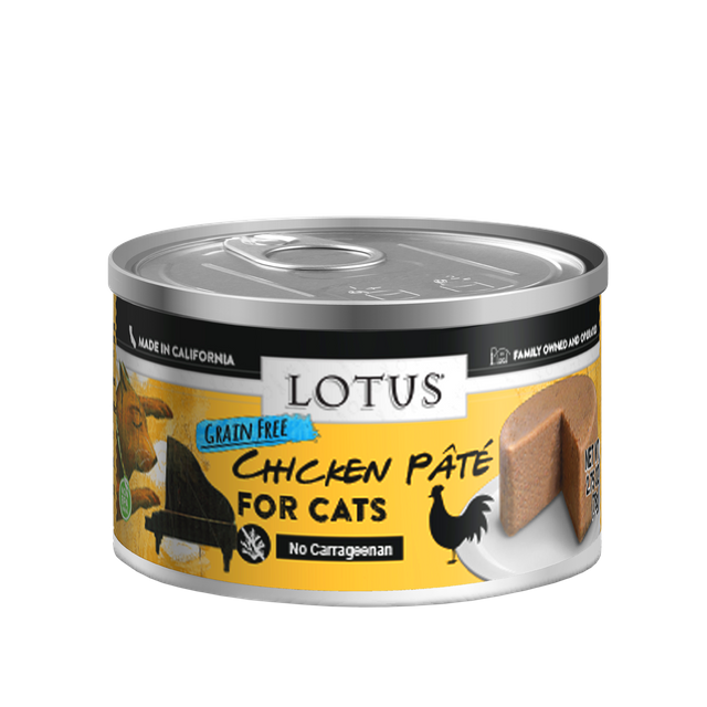 Lotus Lotus Pate Grain Free Chicken Wet Cat Food